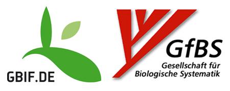 Logos von GBIF-D und GfBS