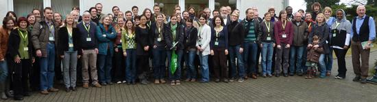 Teilnehmer der Tagung der Deutschen Gesellschaft für Protozoologie 2012 in Wuppertal
