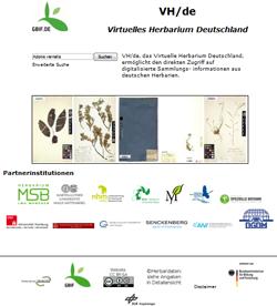 Virtuelles Herbarium Deutschland